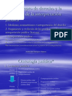 Presentación El Concepto de Derecho y La Naturaleza de La Interpretación