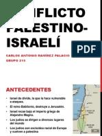 Conflicto Palestino Israeli