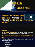 Estudo Da Bíblia 1ª Parte