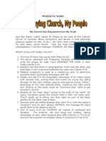 Quit Playing Church
