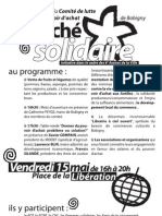 tract Marché solidaire Bobigny
