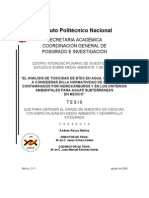 Contaminacion Por Hidrocarburos