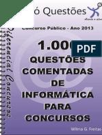 1000 Questoes Informatica Para Concursos
