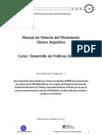Manual de Historia Del Trabajo