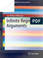 (SpringerBriefs in Philosophy) Jan Willem Wieland (Auth.)-Infinite Regress Arguments-Springer International Publishing (2014)