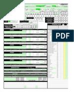 Ficha D&D 3.5 Todas as Classes