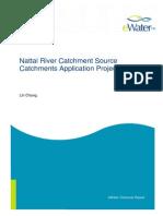 Nattai River eWater Source Catchments Model Case Study
