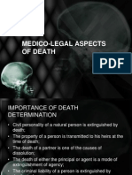 Medico-legal Aspects of Death