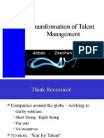 transformation of talent management