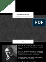 Frederick Taylor Admon