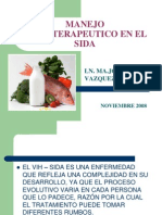 Manejo Dietoterapeutico en El Sida