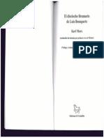 El Dieciocho Braumario de Luis Bonaparte. Karl Marx