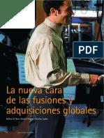 Accenture La Nueva Cara de Las Fusiones y Las Adquisiciones Globales