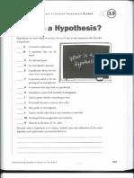 hypothesis probe