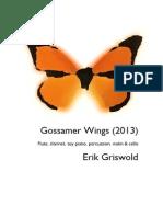 Erik Griswold - Gossamer Wings (2013)