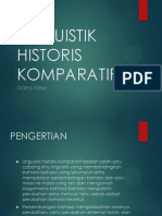 Linguistik Historis Komparatif