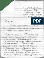 Eric Dollard's Letter - 001