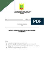 Kilut Paper Exam Pj