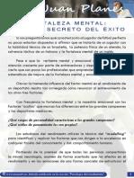Planes j Fortaleza Mental El Pilar Secreto Del Xito Futbol