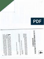 U. 1 - Cuadrado Roura - La Elaboración de La Política Económica - 1995