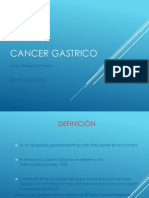 Cancer Gastrico Expo Daniel Silva
