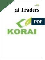 Korai Traders Final Report