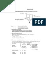 Perhitungan Kristalizer Proses Fraksinasi