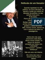 Reflexão De Um Senador, mensagem sobre o Brasil