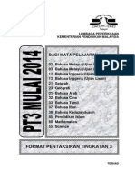 Akademik Format Instrumen PT3