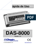 Guía Rápida DAS-8000