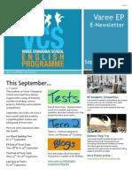 EP Newsletter September 2014