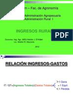 24. Ingresos Rurales