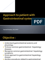 Approach to Patient With Gastrointestinal System