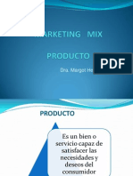 Politica Del Producto - Marketing Mix