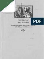San Anselmo - Proslogion