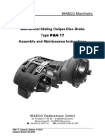 PAN 17 Product Manual 11-2011