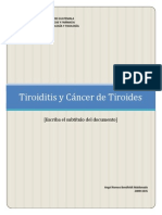 Power Point Tiroiditis y Cáncer de Tiroides