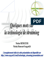 Technologie Streaming