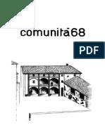 1970 05 Comunità 68