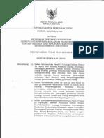 Keputusan Menteri Pekerjaan Umum Nomor 235/KPTS/M/2013 tentang Pelimpahan Kewenangan Pemberian Persetujuan Substansi Rancangan Peraturan Daerah tentang Rencana Rinci Tata Ruang Kabupaten/Kota Kepada Gubernur Jawa Timur