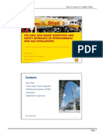 Shell Risk Based Inspection Approach