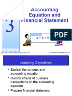 Topic 3 - Accounting Equation