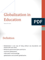 Globalization in Education