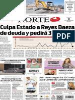 Periódico Norte edición del día 2 de septiembre de 2014