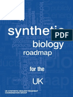 A Synthetic Biology Roadmap for the UK