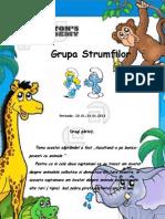 Ascultand-o Pe Bunica-Povesti Cu Animale (20-24.01.2014) -STRUMFII