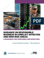 Guidance on Responsible Business in Conflict Areas