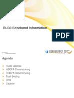 RU30 Baseband Information