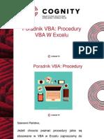 Kurs VBA - Procedury VBA w Excelu Cz.III.pptx