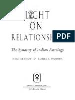 Ligth on Relationships. by Hart de-Fouw & Robert Svoboda